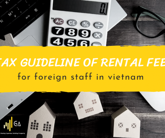 tax guideline of rental fee for foreign staff in vietnam