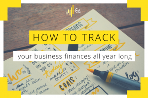 How to track your business finances all year long