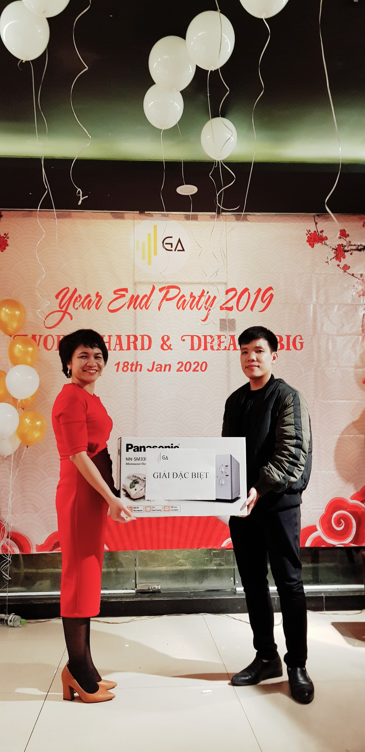 Year End Party 2019 Lucky draw giai dac biet