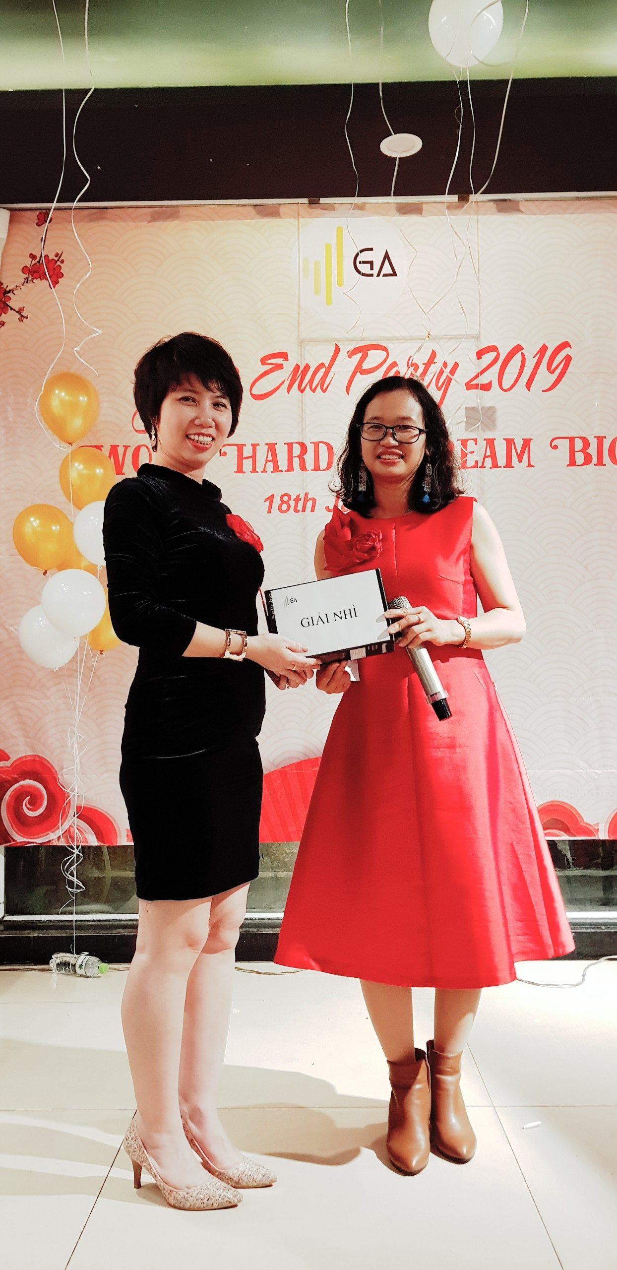 Year End Party 2019 lucky draw giai nhi