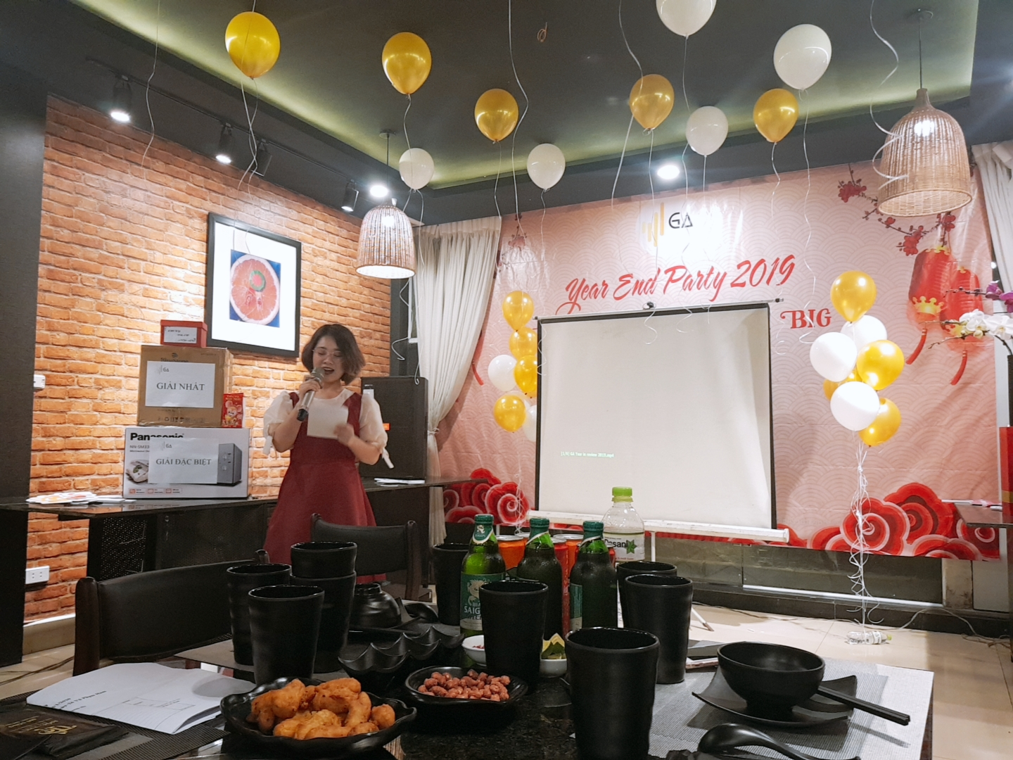 year end party 2019 review