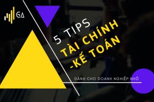 Tip tai chinh ke toan cho doanh nghiepnho