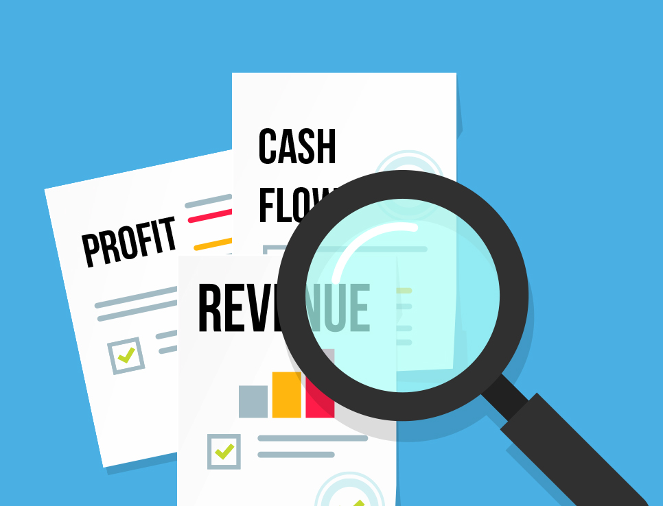 What is the difference between cash flow and profit